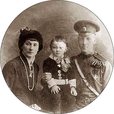 Анна Ахматова, Николай Гумилёв, Лев Гумилёв