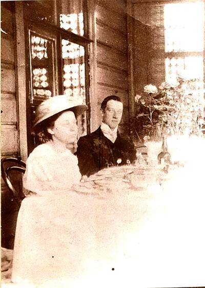 Гумилёв и Маша Кузьмина-Караваева