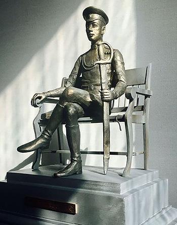 Макет памятника Николаю Гумилёву