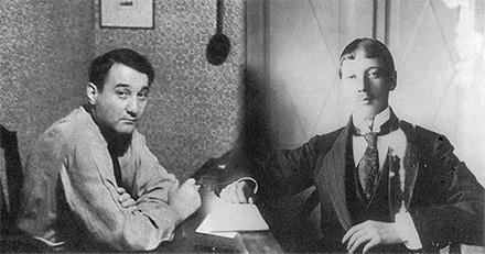 Лев и Николай Гумилёвы